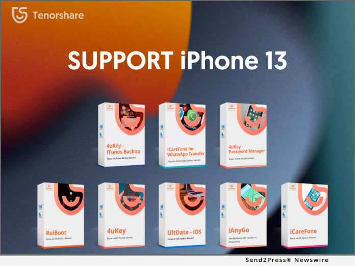 Tenorshare Supports iPhone 13
