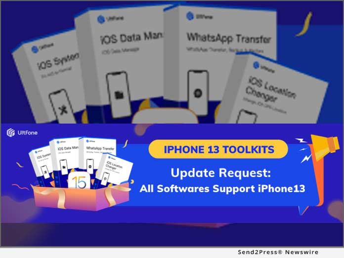 UltFone iPhone 13 Toolkits