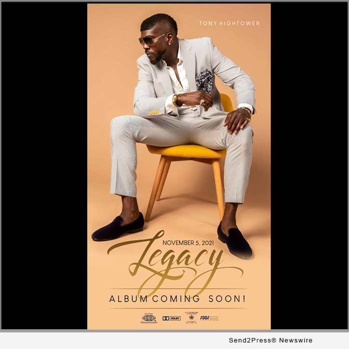 LEGACY album by Singer Tony Hightower