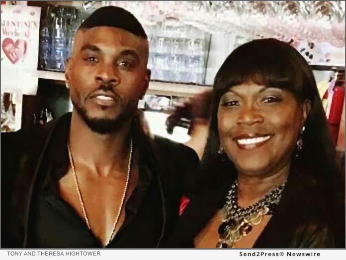 Singer Tony Hightower and his mother legendary jazz singer Theresa Hightower