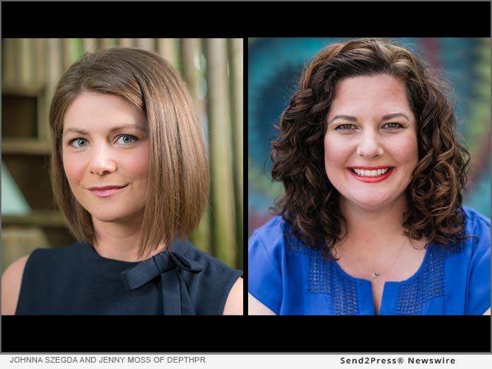 Johnna Szegda and Jenny Moss of DepthPR
