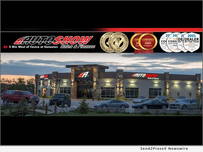 Auto Show Sales & Finance Wins Consumer Choice Award Winner For Third Consecutive Year – Voted Best Used Truck Dealership in the 2021/2022 Consumer Choice Award Survey