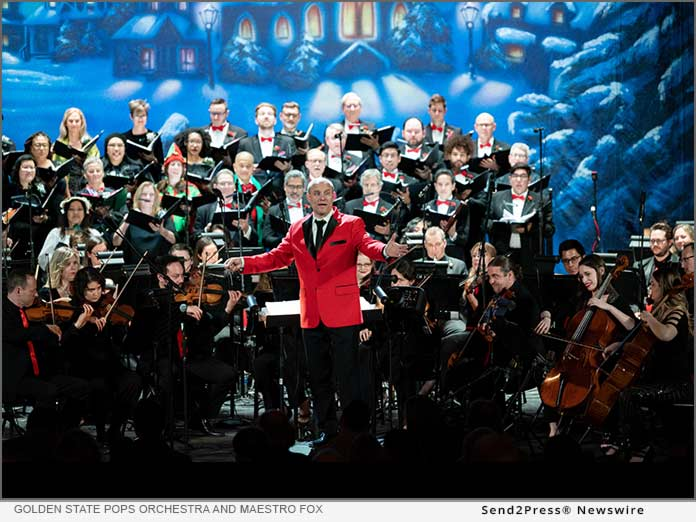 Golden State Pops Orchestra and Chorale present their Return to the Stage with the annual Holiday POPS Spectacular!